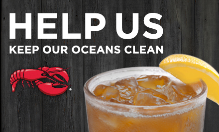 RED LOBSTER® TO ELIMINATE PLASTIC STRAWS BY 2020
