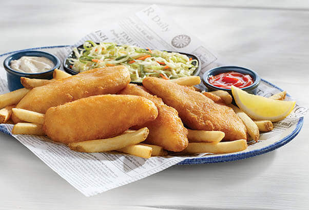 Specials menu red lobster seafood restaurants for Red lobster fish and chips