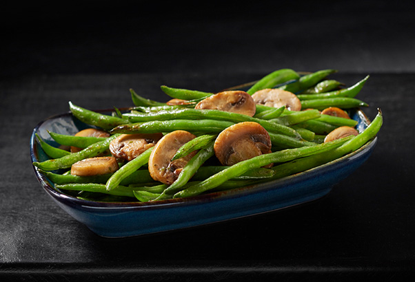 GreenBeansMushrooms