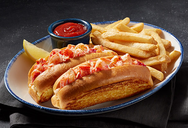 Petite Red Lobster Roll and Fries