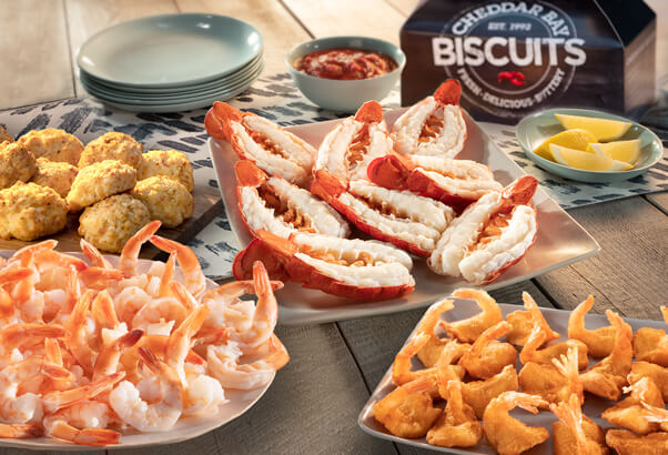 Red Lobster party platter that serves 8-10 people
