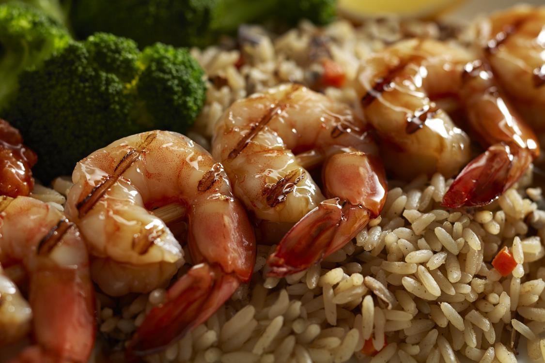 New! Bourbon-Brown Sugar Grilled Shrimp