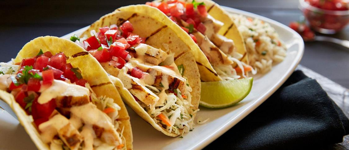Wood-Grilled Chicken Tacos