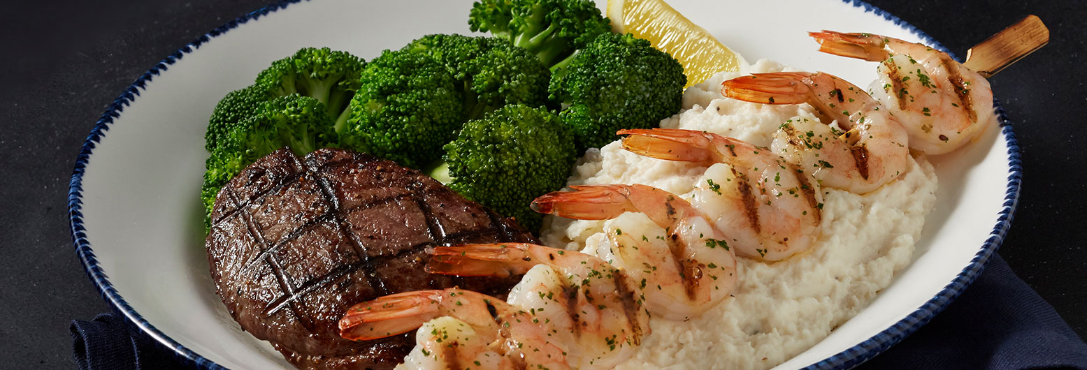 Wood-Grilled Shrimp and Sirloin*   Red Lobster Seafood Restaurants