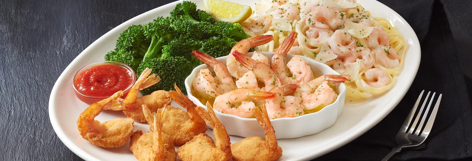 Seaside Shrimp Trio | Red Lobster Seafood Restaurants