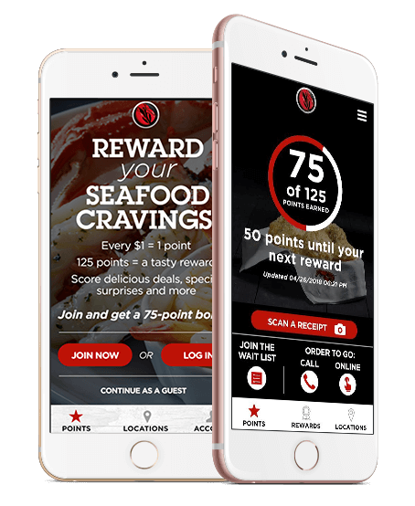 Rewards on your phone